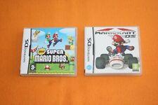 Mario Kart + New Super Mario Bros Nintendo DS