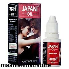 Herbal Japani Oil enlargement Men Pennis Massage Long Hard Male 100 % Org