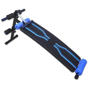 Banco de Abdominales y Musculacion Ajustable en altura Regulable con Cuerdas