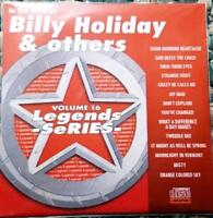 LEGENDS KARAOKE CDG BILLY HOLIDAY & OTHERS OLDIES STANDARDS #16 14 SONGS CD+G