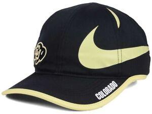 Colorado Buffaloes Nike NCAA Big Swoosh Cap Dri-Fit Featherlight Polyester Hat
