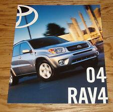 Original 2004 Toyota RAV4 Sales Brochure 04