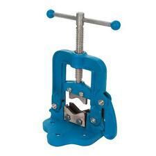 HINGED PIPE VICE 12 - 60MM SELF LOCKING  PLUMBERS WORKBENCH TOOL STAND PIPEWORK