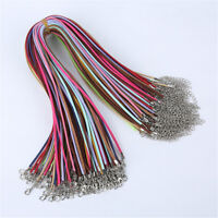 Wholesale 10 pcs Suede Leather Cord Cords For Pendant Necklace Jewelry Making