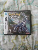 Pokemon Diamond Version (Nintendo DS) Complete -- Authentic -- Tested ⚡️SHIP!
