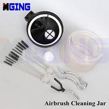 Nozzle Brush 10pcs  Glass Multi-Purpose Airbrush Cleaner Cleaning Paint Pot Jar