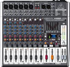 Behringer XENYX X1222usb Mixer 16 ingressi con Processore effetti digitali e int