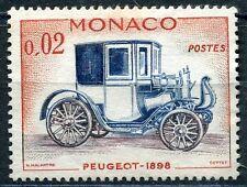 TIMBRE  MONACO N° 558 *  PEUGEOT 1898