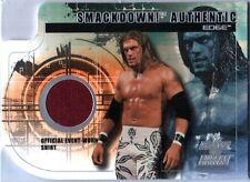 WWE Edge 2002 Fleer Raw vs Smackdown Event Worn Shirt Memorabilia Card DWC