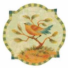 Tuscan Birds 25 Decals Wallies Wallpaper Cutouts Decal Stickers Walls Furniture