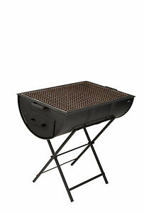 DRUMBECUE BRAND NEW HALF BARBECUE CHARCOAL BBQ  DRUM GRILLER