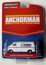 GL HOLLYWOOD SERIES 5 MOVIE CAR ANCHORMAN CHANNEL 4 NEWS TEAM DODGE VAN