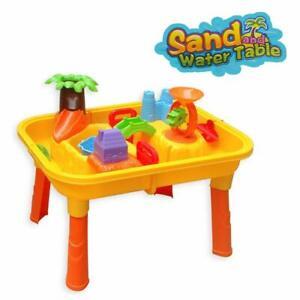 Sand und Wasser Spieltisch Spielzeug Sandspieltisch Wasserspieltisch Bunt 24-tlg