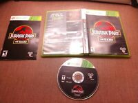 Microsoft Xbox 360 CIB Complete Tested Jurassic Park The Game Ships Fast