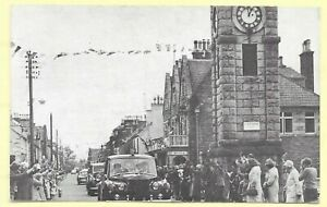 Vintage Printed PC, 1970s,  QUEEN IN ST. JOHNS STREET, CREETOWN.  314A