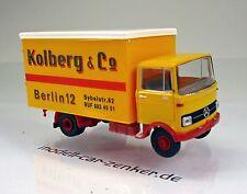 Brekina 48558 MERCEDES BENZ LP 608 Valise Camion Paul Kolberg Berlin Scale 1 87 NOUVEAU