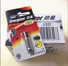 PO/PL55T/// LOT 5 PILES ALCALINE PILES ENERGIZER 12 V Volts A27 27A  E27A EL81