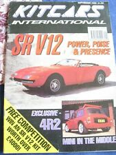 KIT CARS INTERNATIONAL MAGAZINE SEP 1992 SRV12 4R2 MINI IN THE MIDDLE