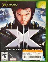 X-Men: The Official Game (Microsoft Xbox 360, 2006) COMPLETE w/MANUAL XMEN e1
