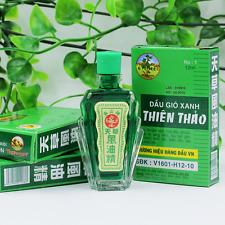 2018 summer Authentic 4 x 12ml Thien Thao Medicated Oil - Dau Gio Xanh  new