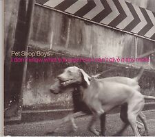 Pet Shop Boys-I Dont Know What You Want Promo cd  single