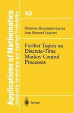 Further Topics on Discrete-Time Markov Control Processes: By Onesimo Hernande...