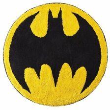 Batman Logo Tufted Bath Rug | Kids Bathroom Decor