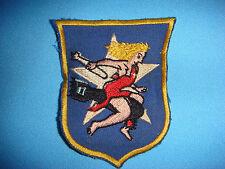 KOREA WAR PATCH (1950-1953) USMC FIGHTER SQUADRON VMA-121 WOLF RAIDERS