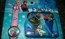 Frozen Children's Watch and Purse Set For Kids Girls Christmas Gift