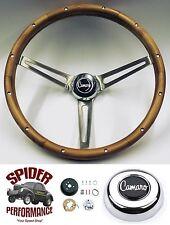 """1969-1973 Camaro steering wheel WALNUT 15"""" Grant steering wheel"""