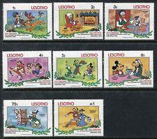 Lesotho 412-4219, MNH, Disney characters 1983. x10080a