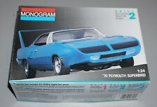 '70 Plymouth Superbird Monogram 1/24 Complete & Unstarted.
