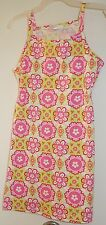 New With Tags Hanna Andersson Bella Pink Sun Dress ~Size 120 / 6-8 year
