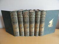MORRIS HISTORY OF BIRDS 6 VOL SET COL PLTS ORNITHOLOGY OOLOGY GROOMBRIDGE 1866