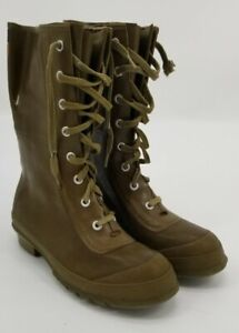 Vintage Converse Insulated Lace Up Rubber Boots, Mens Size 7