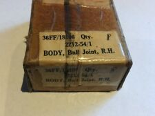 NOS Gipsy Engine Ball Joint Body RH p/n 2212-54/1 36FF/18106 qty 2 (D)