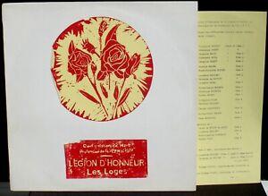 Légion d'honneur Les Loges 1977 Laurence Equilbey LP M, CV EX Clearaudio cleaned