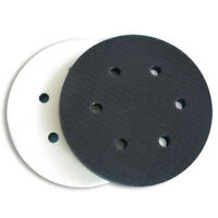 150mm 6 Holes Soft Interface Pad Hook & Loop Sanding Disc Sander Tools Durable