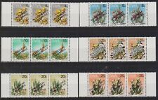 SWA SOUTH WEST AFRICA 1978 Universal Suffrage Fauna optd SG 324-329 MNH FLOWERS