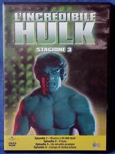 L'INCREDIBILE HULK - STAGIONE 3 - EPISODI 1-4 - DVD N.02631