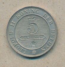 België/Belgique 5 ct. Leopold II 1894 Vl Morin 245 (134781)