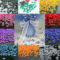 100-2000pcs 10mm Acrylic Crystal Diamond Table Confetti Wedding Table Scatters
