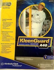 **size 2XL KleenGuard A40 Microporous Disposable Protective Coverall To-Go 44345