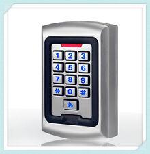 Weatherproof 13.56Mhz MF1 S50 keypad WG26 Metal RFID Access Control Card READER