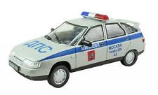 DeAgostini 1:43 Diecast Russian Legends Vaz Lada BA3-2112 #ANC USSR Police Car