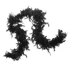 Claire's Halloween Black Feather Boa Unisex One Size NWT