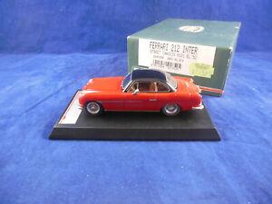 Rare BBR Models Ferrari 212 Inter Street Chassis 0191 El 52 red/black 1:43 Scale