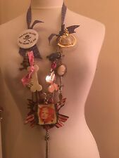 Unique One Off Handcrafted Vivienne Westwood chargé Statement Charme Collier 3