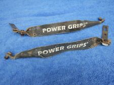 Power Grips Vintage Mountain BMX Bike Pedal Straps Vintage Old School USED