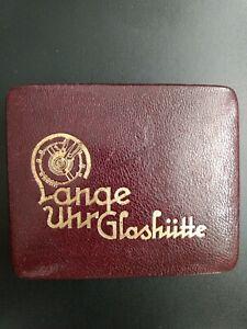 Lange&Söhne Etui Taschenuhr